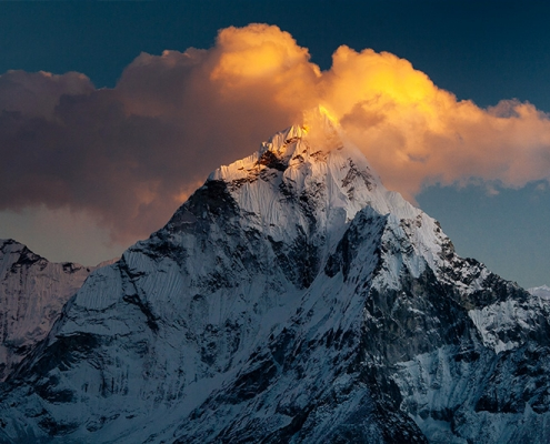 Everest Et Lac De Gokyo