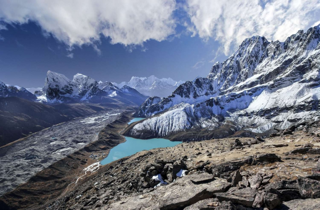 Lac De Gokyo Et Camp De Base De L'everest3