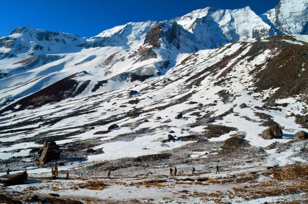 Sanctuaire Et Balcons Des Annapurnas7